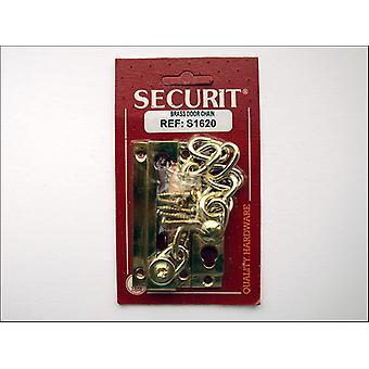 Securit Ovi ketju Messinki Kromattu S1621