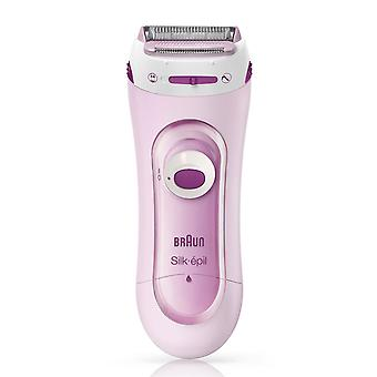 Braun Silk-Epil Lady Shaver LS5100  Pink, Shaver and Trimmer System with 1 Extra