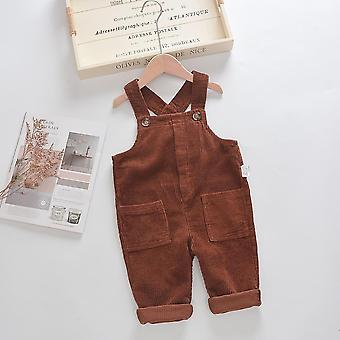 Baby Overalls Solid Corduroy Winter & Pants