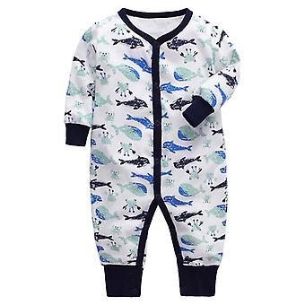 Newborn Baby Clothing - Cotton Sleeper Pajama For Toddler Babies