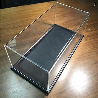 Car Model Only Acrylic Display Box, High Transparent Organic  Dust Cover Glass