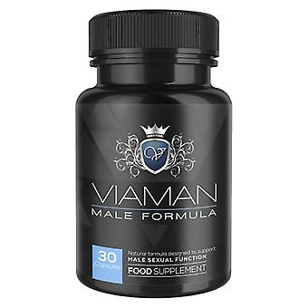 Viaman Male Enhancement Supplement - Natural Ingredients With Zinc & Maca Root - Award Winning Brand - No Known Side Effects - 30 Powerful Capsules