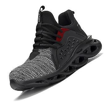 أحذية السلامة الرجال & ق الأحذية, مكافحة تحطيم, أحذية الذكور, أحذية رياضية, تنفس
