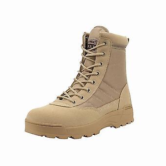 Bottes militaires tactiques, chaussures de sécurité de travail pour hommes