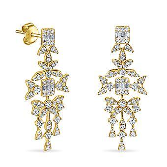 Korvakorut Rayons De Soleil 18K kulta ja timantit