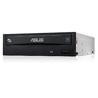 Asus drw-24d5mt kutulu, dvd-rw, sata 24x dvd writing speed double couche sata interface avec m-disc sup