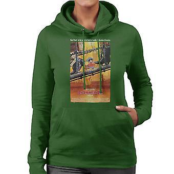 Ein amerikanisches Schwanz Theater Poster Frauen's Kapuzen Sweatshirt