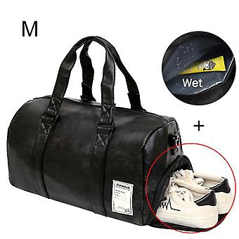 Leather Sports Dry Wet, Training For Shoes, Fitness, Yoga, Travel Luggage,