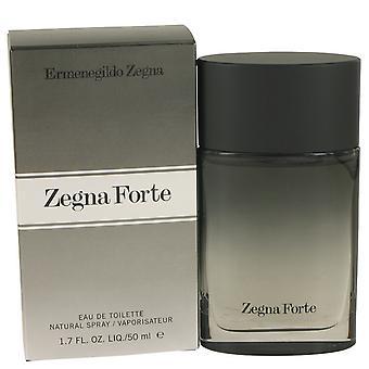 Zegna Forte jäseneltä Ermenegildo Zegna Eau De Toilette Spray 1.7 oz/50 ml (miehet)