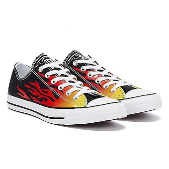 Converse All Star Archive Flame Ox Mens Black / White Trainer