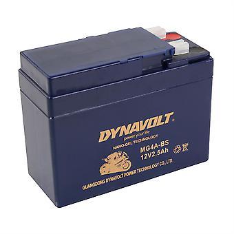 Dynavolt MG4ABS Gel Nano Battery