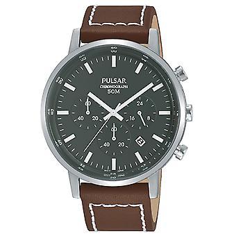 Mens Watch Pulsar PT3887X1, Quartzo, 42mm, 5ATM