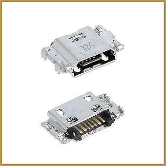 Micro USB-opladningsstikportstik til Samsung Galaxy A6 SM-A600