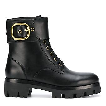 Coach Lucy Combat Boots