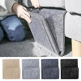 Anti-slip Bed Sofa Side Pouch Hanging Couch Bedside Felt Storage Bag With