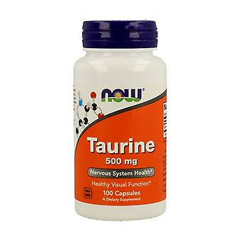 Taurine 500 mg Free Form 100 capsules
