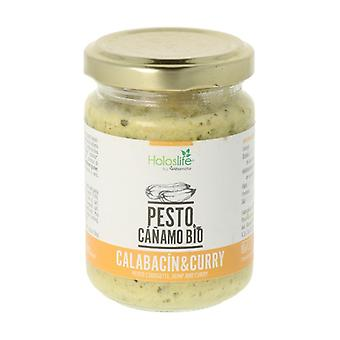 Organic Hemp Pesto with Zucchini and Curry 135 g