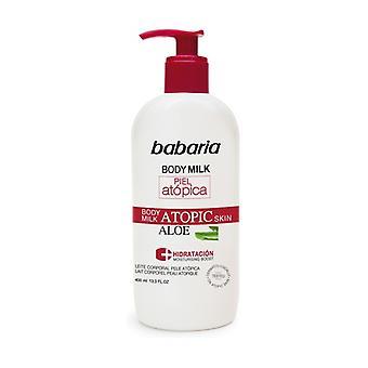 Body Milk With Aloe Vera For Atopic Skin 400 ml