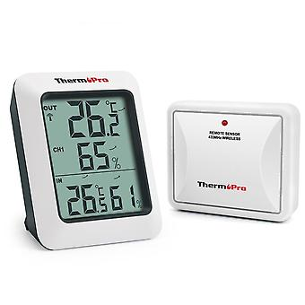 Tp60s- Wireless Digital, Indoor/ Outdoor Thermometer, Monitor With Temperature