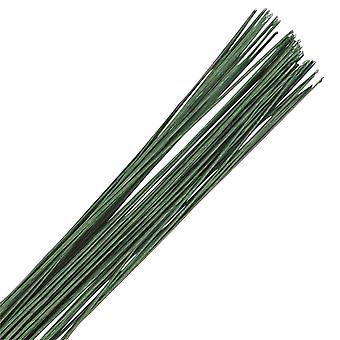 Alambre floral verde oscuro - calibre 20 (0,9 mm)
