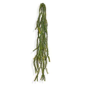 Kunst asperges Vossenstaart trailingplant 60 cm groen