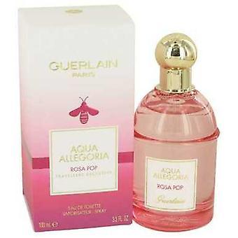Aqua Allegoria Rosa Pop By Guerlain Eau De Toilette Spray 3.3 Oz (women) V728-535477