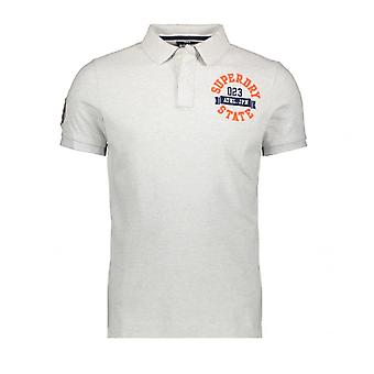Polo Superdry Classic Superstate S/S Polo Grau