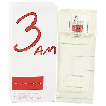 3am Sean John Eau De Toilette Spray By Sean John 3.4 oz Eau De Toilette Spray