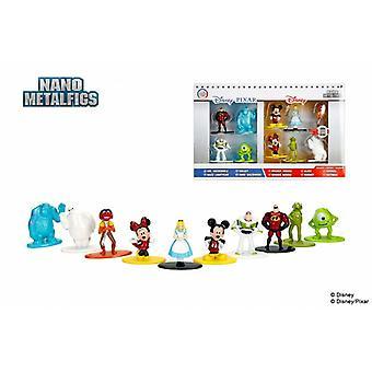 Disney pixar nano metalfigs die cast metal action figure 10 pack