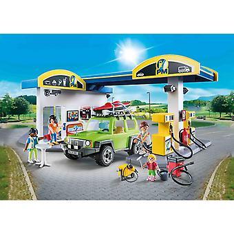 Playmobil city life fuel station