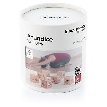 InnovaGoods Anandice Juego Dados Yoga+7 piezas