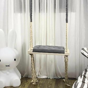 Criança Swing Chair Kid Hanging Swings Set