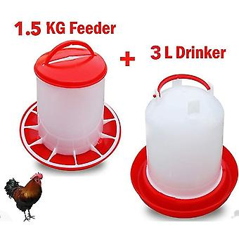 6l And 3kg Bird Feeder