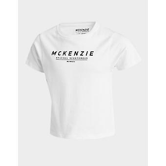 New McKenzie Kids' Mini Essential Large Logo T-Shirt from JD Outlet White