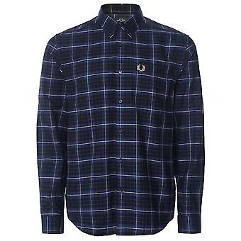 Fred Perry Tonal Check Shirt M1546 143