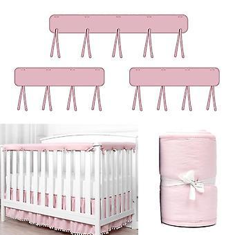 Cuna rail cubierta cuna cuna, envoltura protectora anti-mordida, protector de dentición segura del bebé