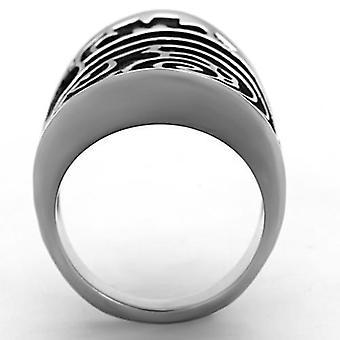 Women Stainless Steel Epoxy Rings Tk1448