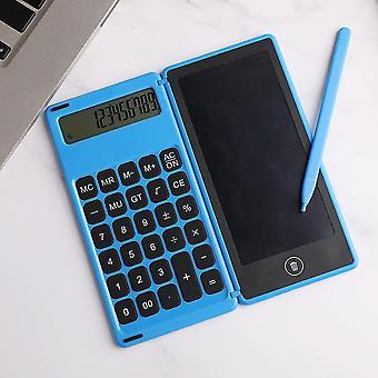 Tablette tactile lcd tablette numérique dessin tablette écriture pads tableau électronique sans poussière panneau graffiti avec pliage calculatrice