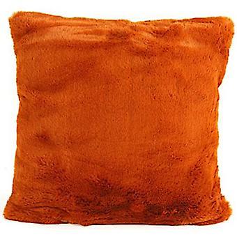 pillow Jozias 45 x 15 cm fleece rust red brown