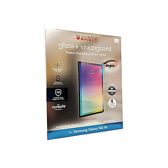 ZAGG Galaxy Tab S6 NäkymätönShield Karkaistu lasi + VisionGuard - Kirkas
