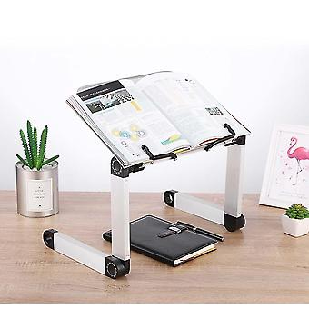Creative Aluminium Alloy Metal 360 Degree Adjustable Book Reading Shelf Stand