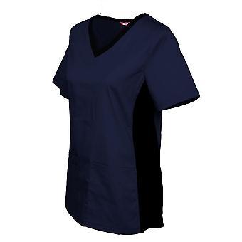 Dámske dojčiace uniformné blúzka s krátkym rukávom V-neck Pracovné topy