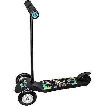 Ozbozz Trail Twist Junior Scooter Fekete