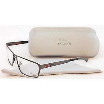 جاكوار النظارات الإطار 33801-420 رمادي أداء المعادن ألمانيا أدلى 58-14-135