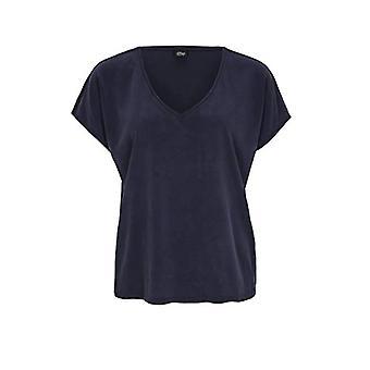 s.Oliver BLACK LABEL 150.10.005.12.130.2040501 T-Shirt, Navy Blue, 44 Woman
