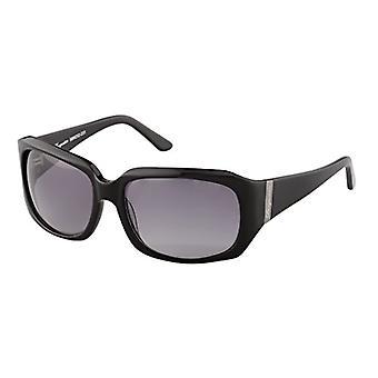 Burgmeister - Sunglasses SBM202-231 Sydney Rectangular, Man, Black - Schwarz (Schwarz Schwarz)