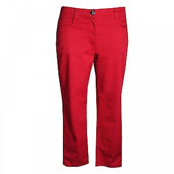 Aventures Des Toiles Zip Cotton Crop Pants