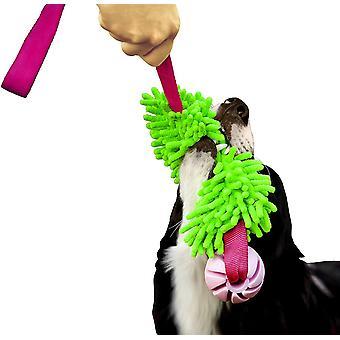 Red Mop Bite Tug for Agility Dog Fun Hundespielzeug