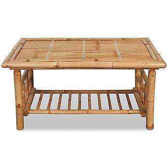 vidaXL Sohvapöytä Bambu 90 x 50 x 45 cm