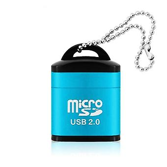 Mini mobiltelefon memóriakártya-olvasó USB adapter laptophoz